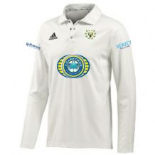 Woodvale Cricket Club Adidas Long Sleeve Cricket Shirt Adults 2020
